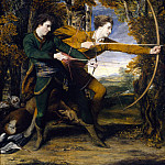 Sir Joshua Reynolds - Colonel Acland and Lord Sydney: The Archers, Tate Britain (London)