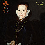 Portrait of Elizabeth Roydon, Lady Golding, Hans Eworth (Ewoutsz)