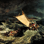 Joseph Mallord William Turner - The Shipwreck, Tate Britain (London)