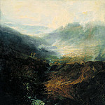 Tate Britain (London) - Joseph Mallord William Turner - Morning amongst the Coniston Fells, Cumberland