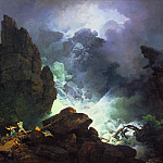 Tate Britain (London) - Phillip James De Loutherbourg - An Avalanche in the Alps
