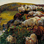 Tate Britain (London) - William Holman Hunt - Our English Coasts, 1852 (Strayed Sheep)