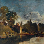 The Thames near Walton Bridges, Joseph Mallord William Turner