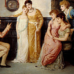 Simeon Solomon – A Youth Relating Tales to Ladies, Tate Britain (London)
