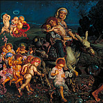William Holman Hunt - The Triumph of the Innocents, Tate Britain (London)