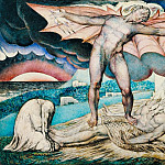 William Blake - Satan Smiting Job with Sore Boils, Tate Britain (London)