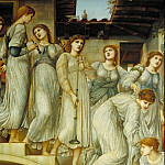 Sir Edward Coley Burne-Jones - The Golden Stairs, Tate Britain (London)