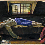 Henry Wallis – Chatterton, Tate Britain (London)