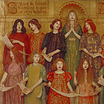 Thomas Cooper Gotch – Alleluia, Tate Britain (London)