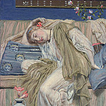Tate Britain (London) - Albert Moore - A Sleeping Girl