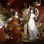 Sir Joshua Reynolds - Three Ladies Adorning a Term of Hymen, Tate Britain (London)