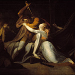 Percival Delivering Belisane from the Enchantment of Urma, Henry (Fussli Fuseli