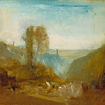 Tate Britain (London) - Joseph Mallord William Turner - Tivoli, the Cascatelle