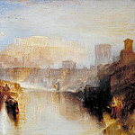 Joseph Mallord William Turner - Ancient Rome; Agrippina Landing with the Ashes of Germanicus, Tate Britain (London)