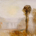 Joseph Mallord William Turner - The Ponte Delle Torri, Spoleto, Tate Britain (London)