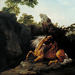 George Stubbs - Horse Devoured by a Lion, Tate Britain (London)