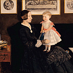 Tate Britain (London) - Sir John Everett Millais - Mrs James Wyatt Jr and her Daughter Sarah