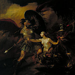 Tate Britain (London) - William Hogarth - Satan, Sin and Death (A Scene from Milton's «Paradise Lost»)