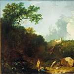 Richard Wilson - Distant View of Maecenas Villa, Tivoli, Tate Britain (London)