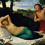 Tate Britain (London) - Alphonse Legros - Cupid and Psyche