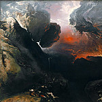Tate Britain (London) - John Martin - The Great Day of His Wrath