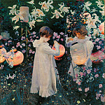 Tate Britain (London) - John Singer Sargent - Carnation, Lily, Lily, Rose