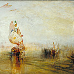 Tate Britain (London) - Joseph Mallord William Turner - The Sun of Venice Going to Sea