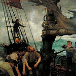 Tate Britain (London) - Henry Scott Tuke - All Hands to the Pumps