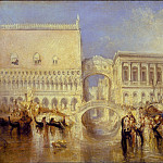 Venice, the Bridge of Sighs, Joseph Mallord William Turner