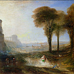 Joseph Mallord William Turner - Caligula's Palace and Bridge, Tate Britain (London)