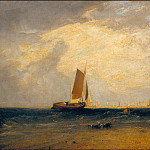 Tate Britain (London) - Joseph Mallord William Turner - Fishing upon the Blythe-Sand, Tide Setting In
