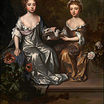 Willem Wissing - Portrait of Henrietta and Mary Hyde, Tate Britain (London)