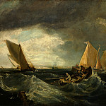 Tate Britain (London) - Augustus Wall Callcott - Sheerness and the Isle of Sheppey (after J.M.W. Turner)