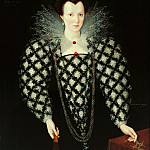 Tate Britain (London) - Marcus Gheeraerts II - Portrait of Mary Rogers, Lady Harington