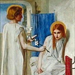 The Annunciation, Dante Gabriel Rossetti