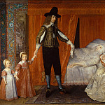 David Des Granges - The Saltonstall Family, Tate Britain (London)
