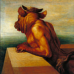 Tate Britain (London) - George Frederic Watts - The Minotaur