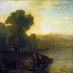 Tate Britain (London) - Joseph Mallord William Turner - View of Richmond Hill and Bridge