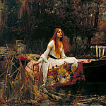 John William Waterhouse - The Lady of Shalott, Tate Britain (London)