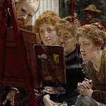 Lawrence Alma-Tadema - A Family Group 1896