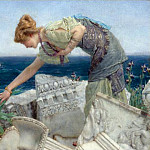 Lawrence Alma-Tadema - Among the Ruins