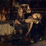 Lawrence Alma-Tadema - Death of the Pharaoh Firstborn son