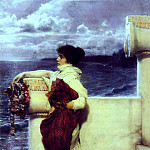 Lawrence Alma-Tadema - Hero 1898
