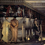 Phidias Showing the Frieze of the Parthenon to his Friends, Lawrence Alma-Tadema