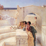 Under the roof of blue ionian weather, Lawrence Alma-Tadema