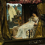 The Meeting of Antony and Cleopatra: 41 BC, Lawrence Alma-Tadema