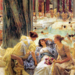 Lawrence Alma-Tadema - The Baths of Caracalla 1899