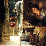 Welcome footsteps, Lawrence Alma-Tadema
