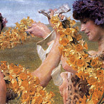 Lawrence Alma-Tadema - When flowers return