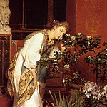 Lawrence Alma-Tadema - In the Peristyle (1866)